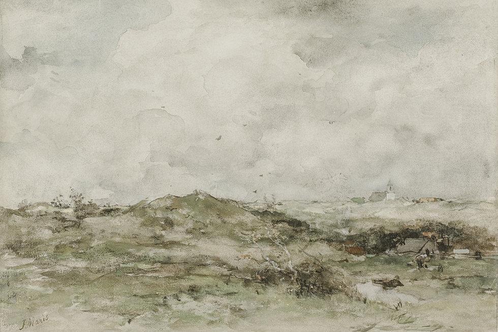 Chalk-Paper-Brush-Landscape-Jacob MarisT