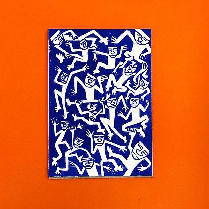 Alexander Wilstrup . De Urgamle 4 . 30 x 21 . Linocut