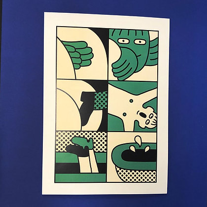 Simon Landrein . Trombe .  42 x 30 . Digital print