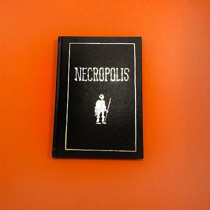 'necropolis ' . simon petersen & cav bøgelund . comic book