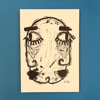 Emil Staggemeier . Kiss me twice . 42 x 30 . Print .