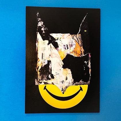 Perishable Rush . SMILEY . 42 x 30 . Print .