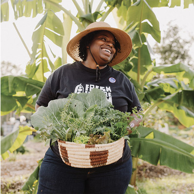 At Fresh Future Farm, Germaine Jenkins Cultivates A Healthy, Well-Fed Future For Underserved Communities