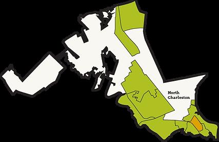 Food Deserts in North Charleston Website