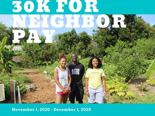30K for Neighbor Pay Campaign