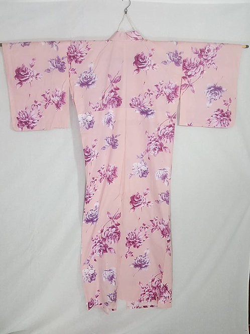 Pink Rose Yukata