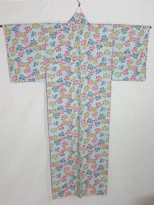 Pale Blue Kimono