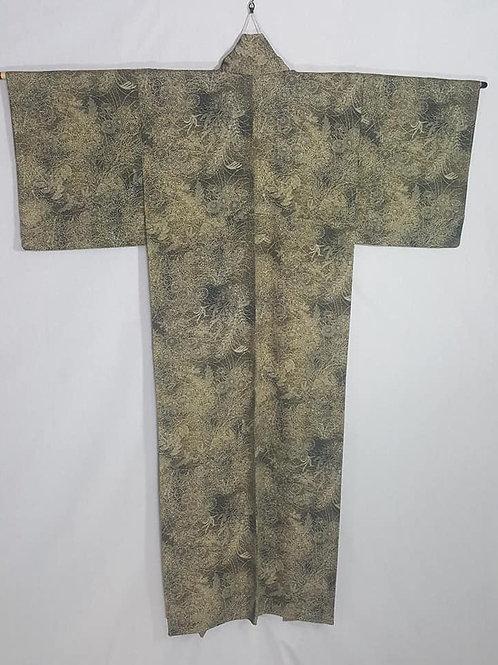 Black & Yellow Kimono