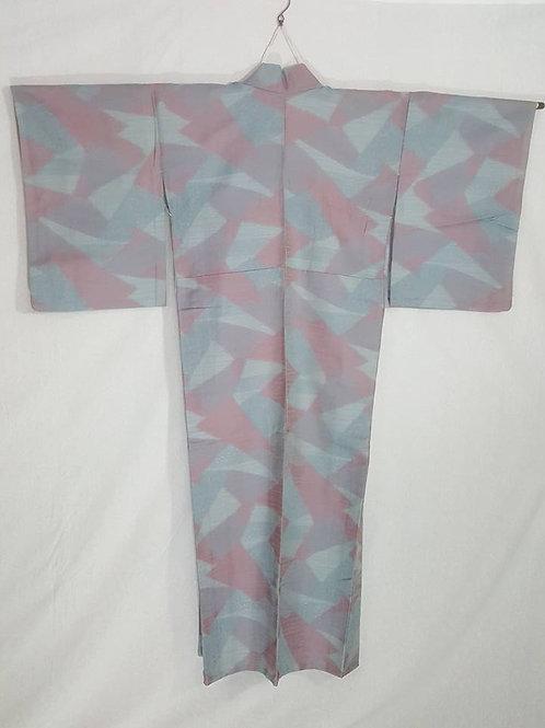 Blue & Pink Kimono
