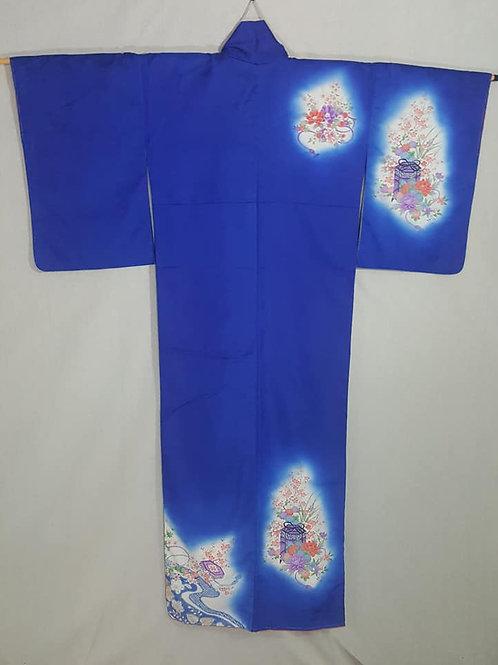 Royal Blue Houmongi