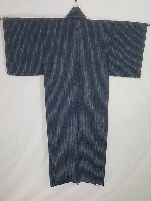 Blue & Beige Kimono