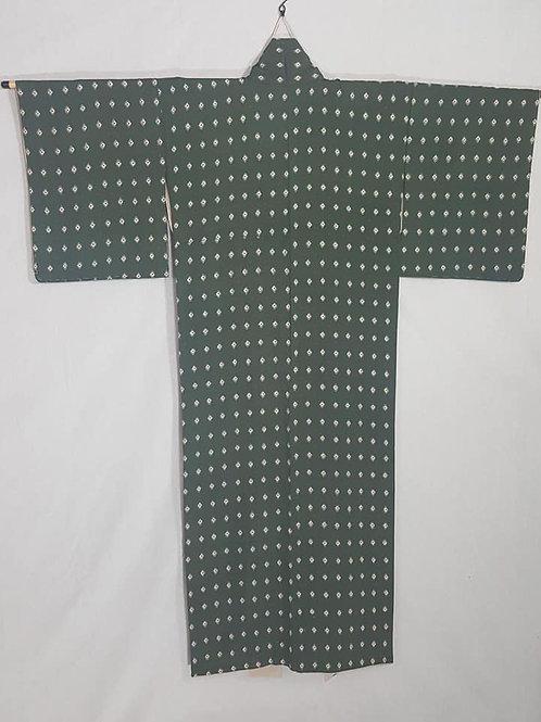 Dark Green Kimono