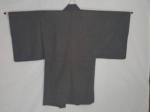 Grey Striped Haori