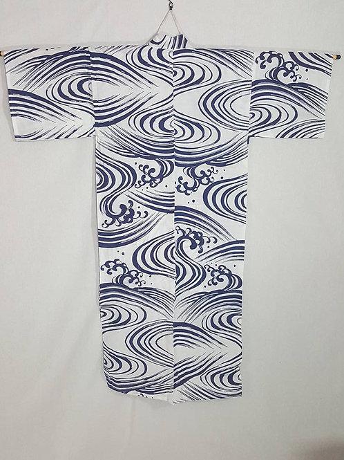 Men's Blue & White Yukata