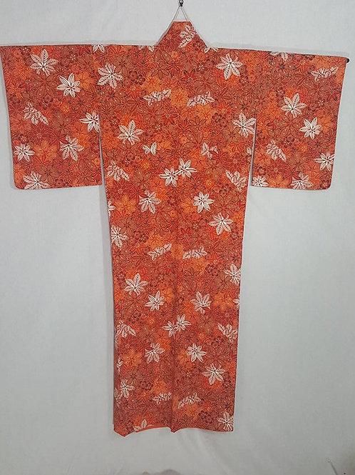 Red & Orange Kimono