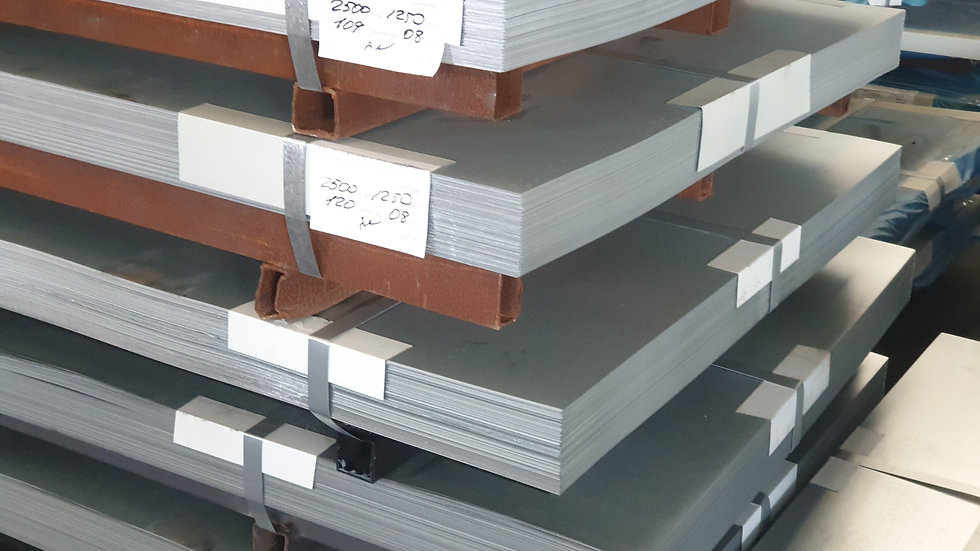 Metal sheets galvanized/painted