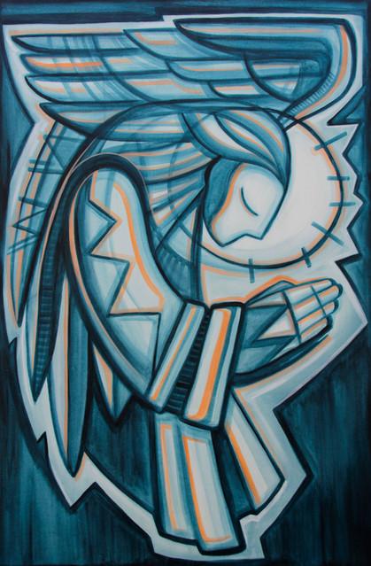 120 x 80 x 4 cms / Acrílico sobre tela / Acrylic on canvas /  / iknuitsin@gmail.com