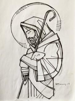 28 x 21 cms aprox / Tinta sobre papel / Ink on paper