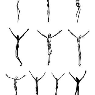 Cristo siluetas MG