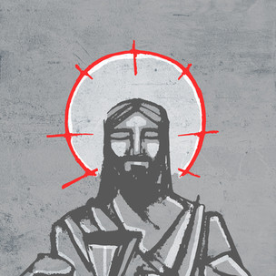 Jesús Pan compartido / Jesus shared Bread