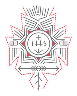 Monograma Jesuita IHS / Jesuit monogram IHS