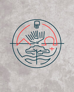 Alfa y Omega diseño símbolo / Alpha and Omega symbol design