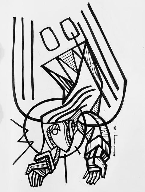 Ángel rústico / Rustic angel