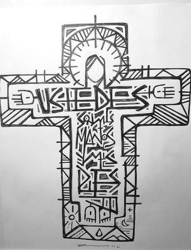28 x 21 cms aprox. / Tinta sobre papel / Ink on paper