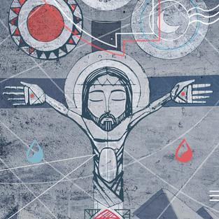 Jesús sol y luna / Jesus sun and moon il
