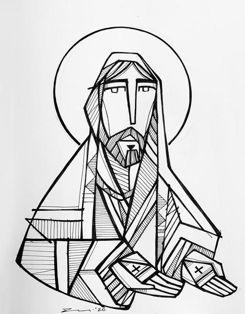 Jesús Nazareno manos abiertas