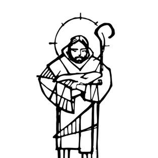 2018 Jesus Buen Pastor a tinta cuerpo co