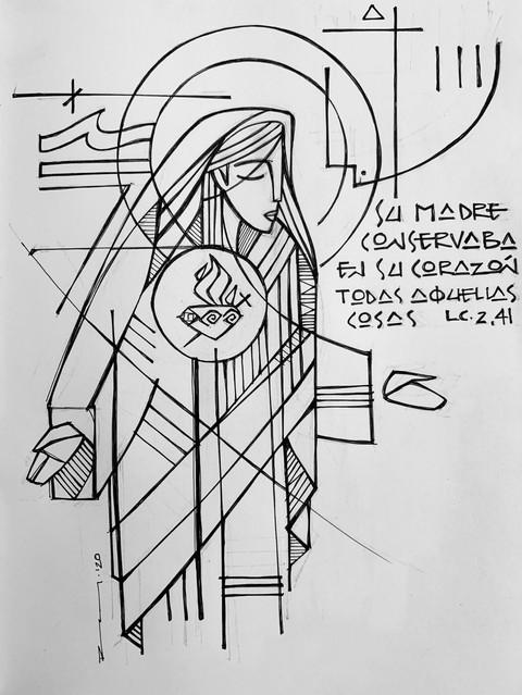 María Corazón Inmaculado / Mary Immacula