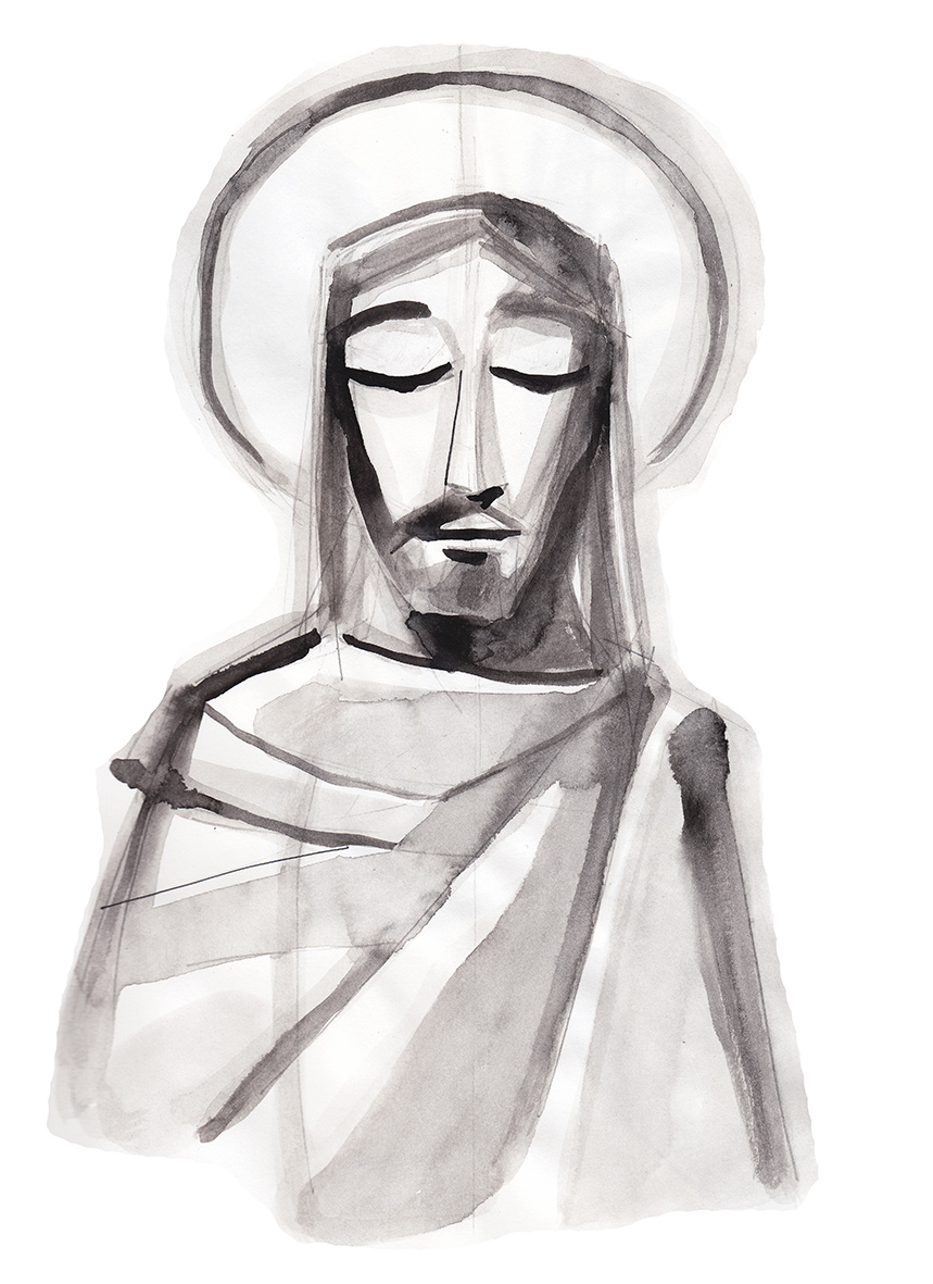 Jesus dibujo / Jesus drawing