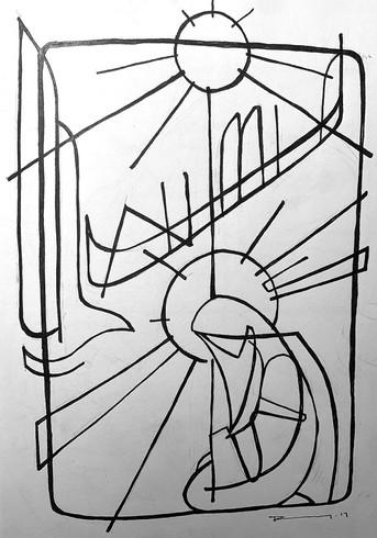 28 x 21 cms aprox. / Tinta sobre papel / Ink on paper / iknuitsin@gmail.com