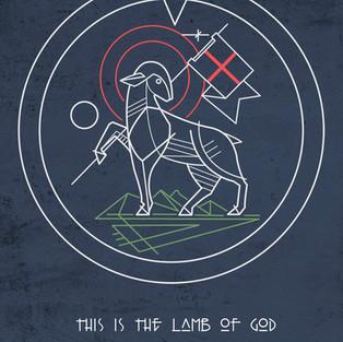Cordero de Dios diseño / Lamb of God de