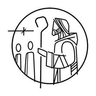 Símbolo Jesús seguimiento / Follow Christ symbol