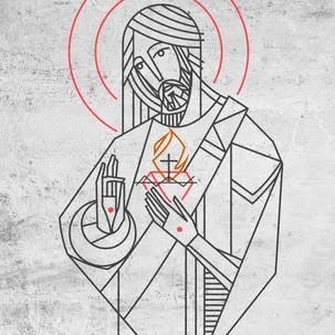 Jesus Sagrado Corazón / Jesus Christ Sac
