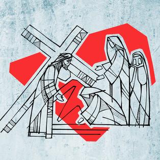 Jesús consuela a las mujeres / Viacrucis