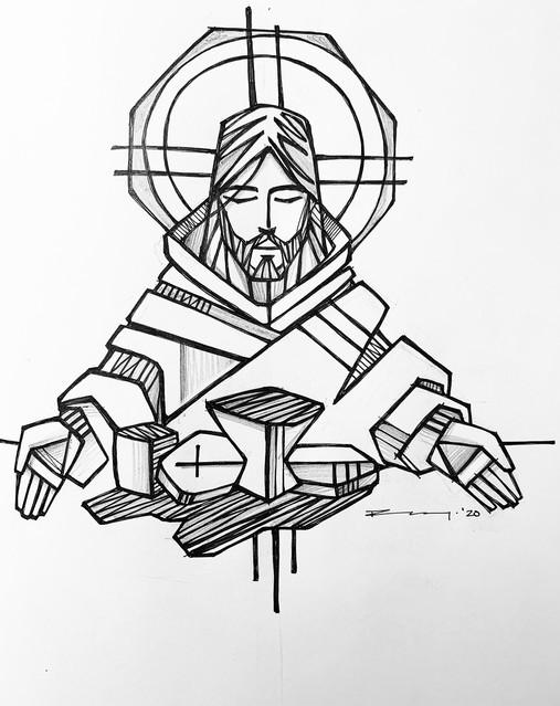 Jesús en última cena / Jesus at last sup