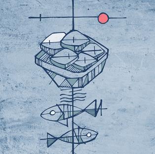 5 Panes 2 peces