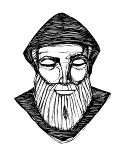 San Charbel dibujo / Saint Charbel dibujo