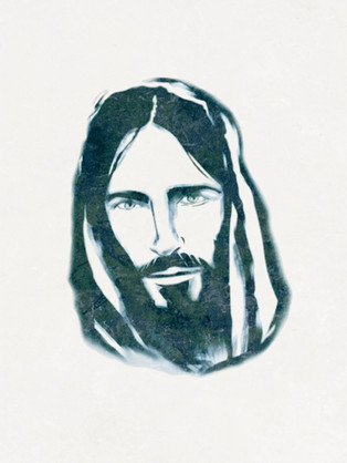 Jesus dibujo / Jesus drawing