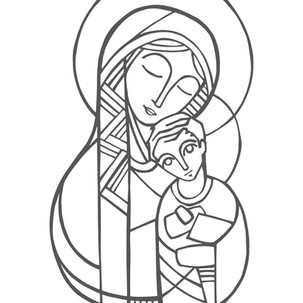 María y Niño Jesús / Mary and baby Jesus