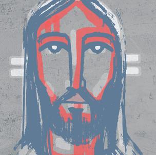 Jesús Rostro pintura / Jesus Face painit