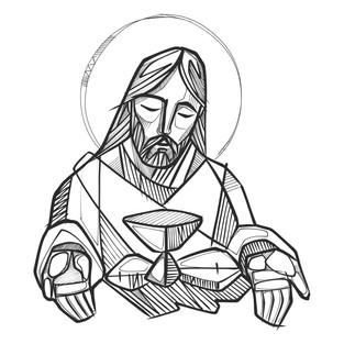2020 Jesus Ultima Cena linea digital.jpg