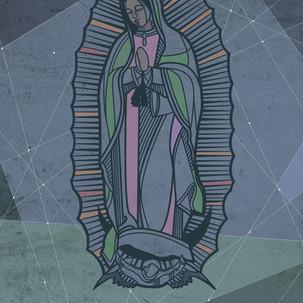 Virgen de Guadalupe unilínea / Our Lady
