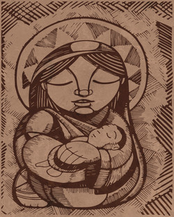 María Madre y Jesús / Mary Mother and Jesus