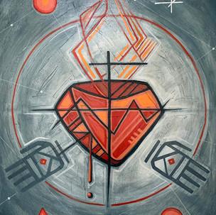 Sagrado Corazón Iknu / Jesus Sacred Heart