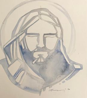 35 x 30 cms aprox / Acuarelaa sobre papel / Watercolor on paper / iknuitsin@gmail.com