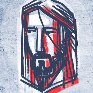 Jesús Rostro tinta / Jesús Christ ink portrait